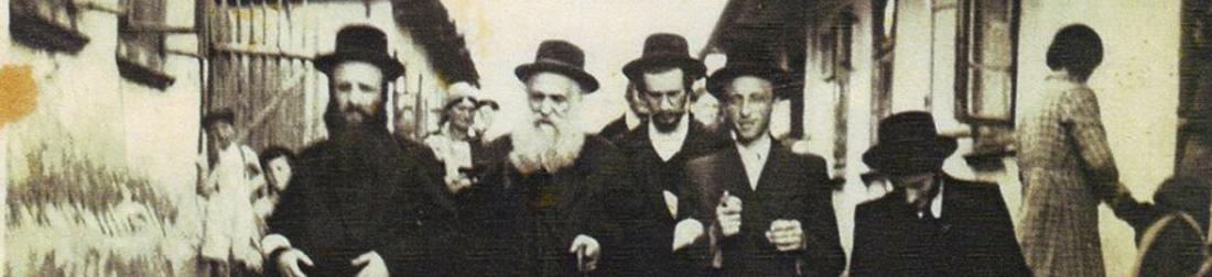 Dobová fotografia židovskej komunity